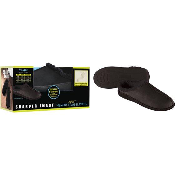 Sharper Image Men's Memory Foam Slipper $2 In Store Only Walmart YMMV