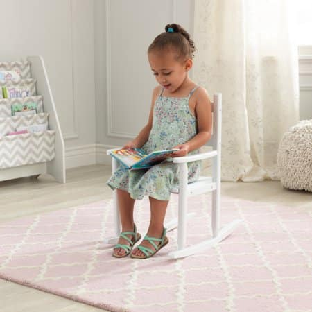 Excellent Kidkraft Classic Wooden Rocking Chair White 24 As Low Caraccident5 Cool Chair Designs And Ideas Caraccident5Info