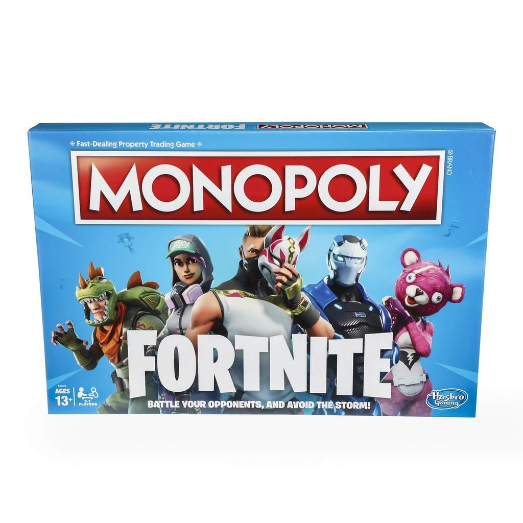 Monopoly: Fortnite Edition Board Game $7.00 & FREE Shipping with Prime or on orders over $25