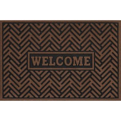 """24"""" x 36""""  Welcome Door Mat Special Buy $6.88 In Store Home Depot"""