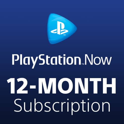 PS Now 12 month - $99.99