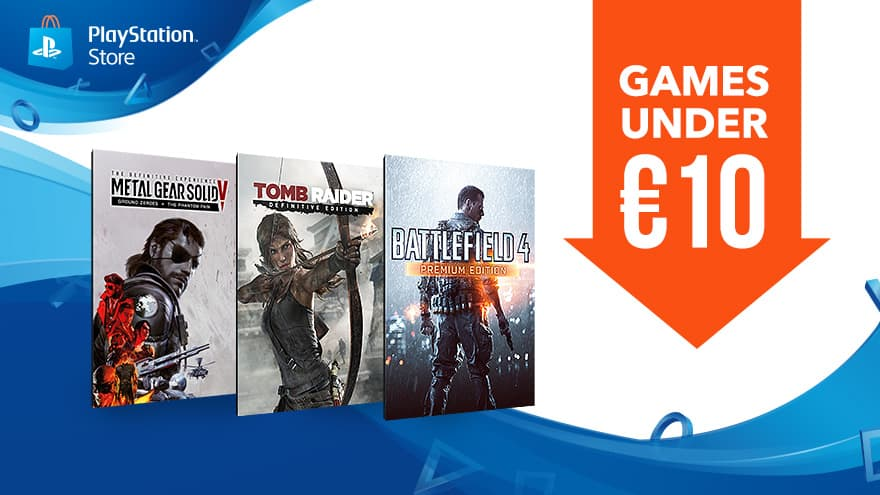Playstation Store (EU): Games Under €10