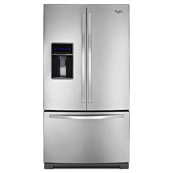 Whirlpool French Door 25 ft2 w/ ice maker and water through door $1499 (+tax) (FS)