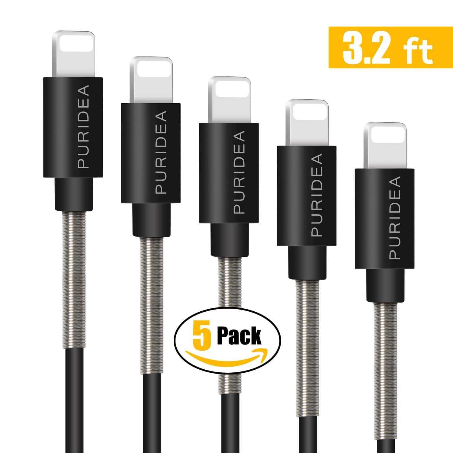 iphone 5 charging cable 5 pack of 3ft iphone charger lightning cables 5 99 14506