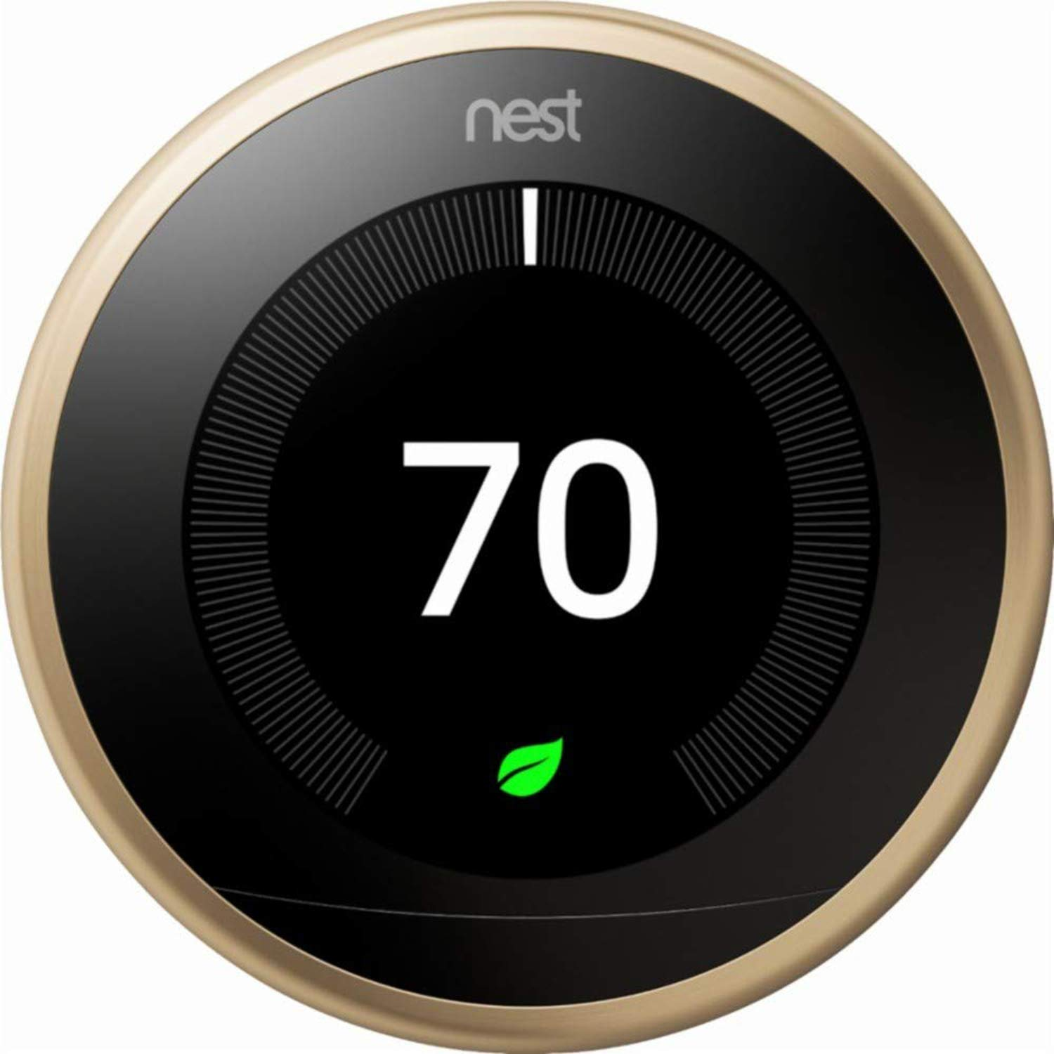 nest gen 3 learning thermostat $139 amazon. get it while its hot hot hot. - brasssssss only. $139.99
