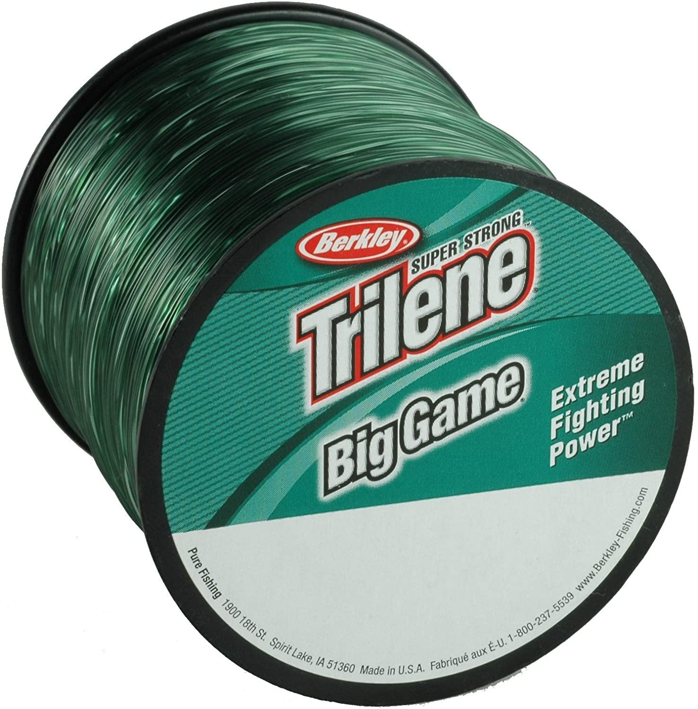 Amazon.com: Berkley Trilene Big Game, Green, 15 Pound Test-900 Yard : Patio, Lawn & Garden $6.68