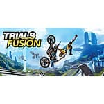 PCDD: Trials Fusion $4.99, Trials Fusion - The Awesome MAX Edition $9.99 (ALL DLC) Season Pass $4.99, Awesome Level Max DLC $2.49, UPLAY