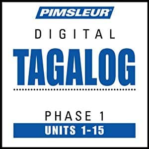 Free - Pimsleur Tagalog Language Phase 1, Units 1 - 15:  Audible Audiobook, 15 lessons (450 minutes)