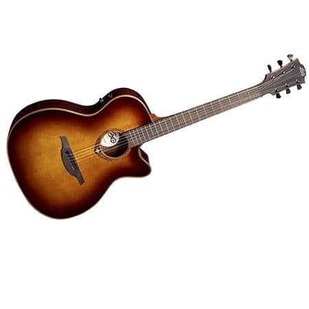 Acoustic-Electric Guitar - Lag Tramontane T100ACE Auditorium Cutaway, at ADORAMA $149.99 - (350 Off regular price)