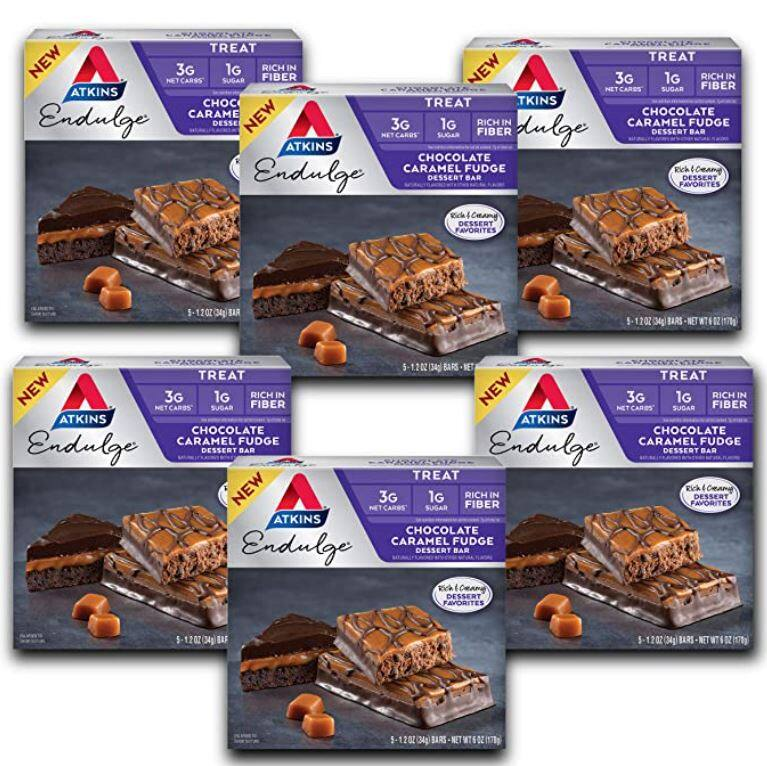 Atkins Endulge Treat Strawberry Cheesecake Dessert Bar (30 Bars) $10.36 at Amazon