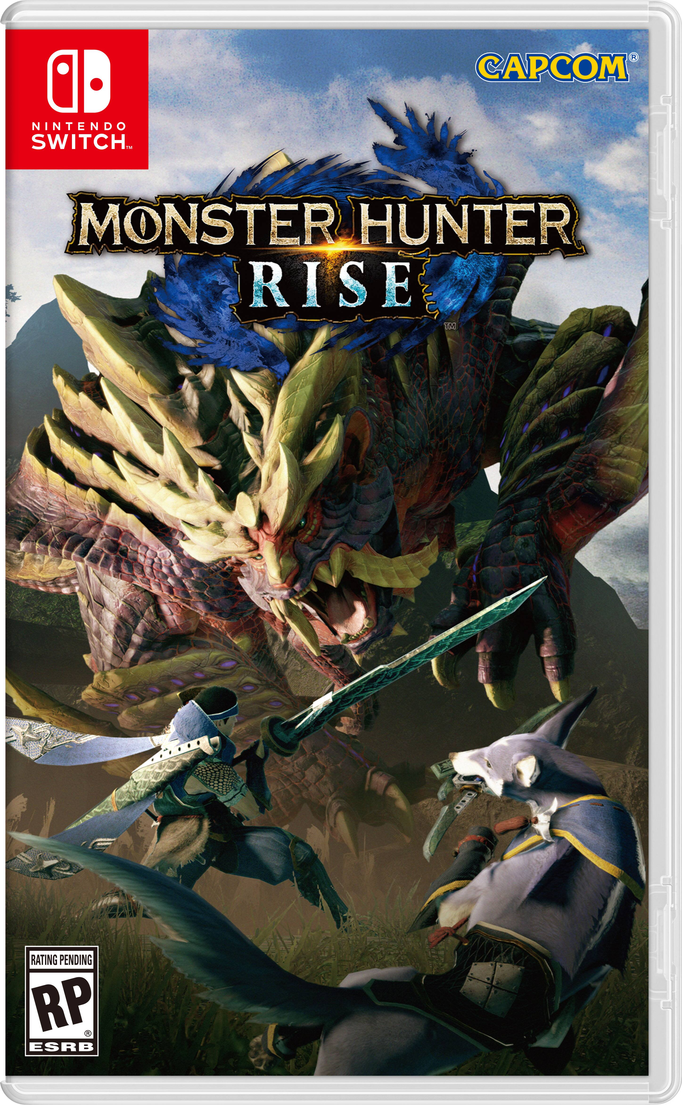 Monster Hunter Rise Nintendo Switch $49.94 at walmart.com