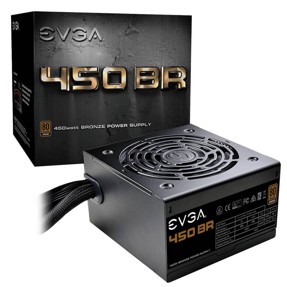 EVGA 450 BR Power Supply for $20