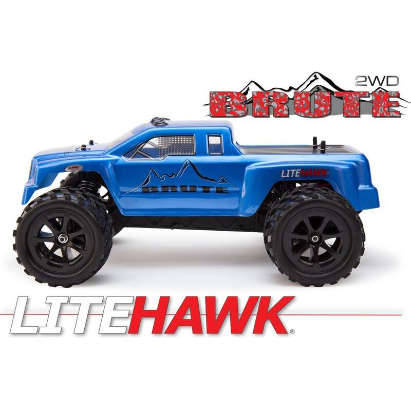 LiteHawk Brute 42002 2WD electric Remote Controlled Truck $59.99 shipped at Fry's use today's Promo Code