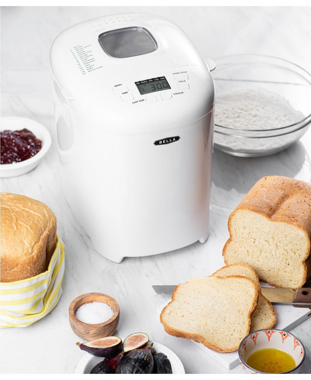 Bella 2-lb. Loaf Programmable Bread Maker & Reviews - Small Appliances - Kitchen - Macy's - $60.00