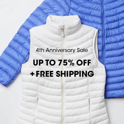 32 Degrees 4TH ANNIVERSARY SALE UP TO 75% OFF + FREE SHIPPING