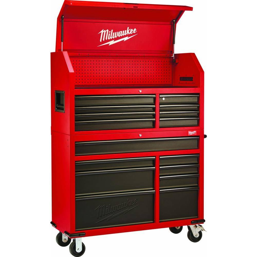 "Milwaukee 46"" Tool Chest $555 (reg $698) at Home Depot B&M - Update now $350 YMMV"