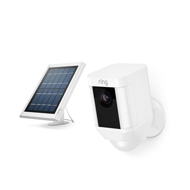 Ring Spotlight Cam Battery + Free Solar Panel $149.99