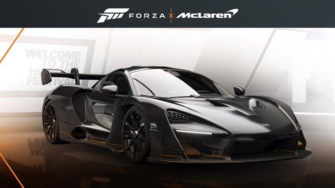 FREE McLaren Senna (Bruno Senna Livery) - Forza Horizon 4 (Win10/Xbox One)