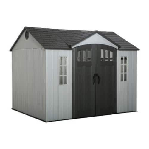 Lifetime Shed with Side Entry 10' x 8'  799.99 Brick and Mortar