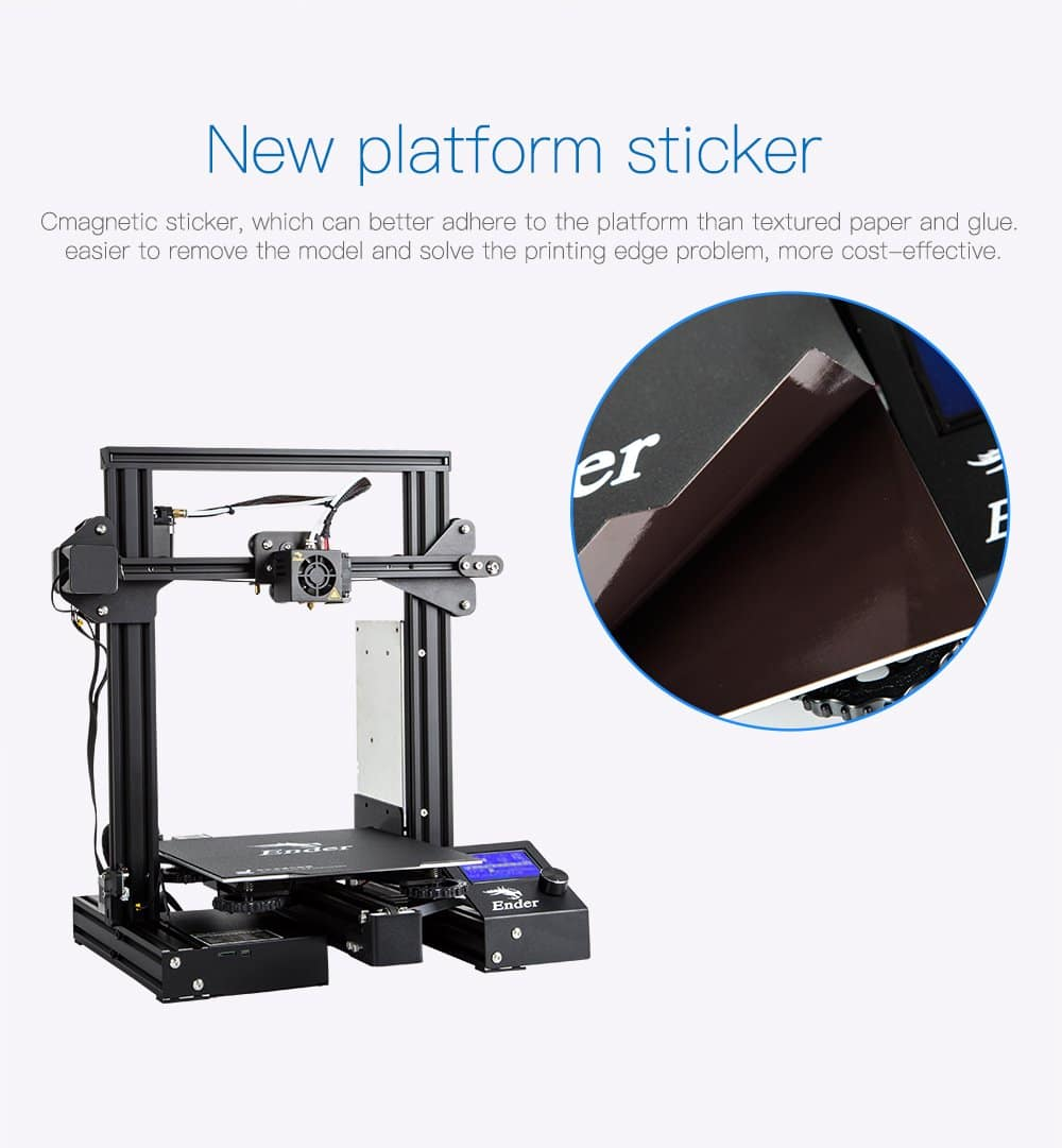 Creality Ender 3 Pro 3D Printer,Sale on official store only $209 +Free shipping