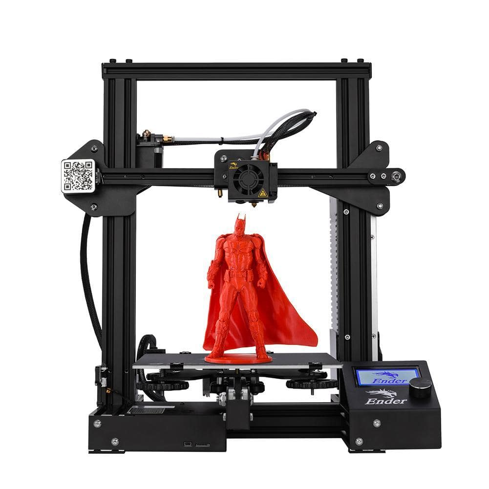 Creality3D Ender3 printer for ONLY $165 with free shipping.