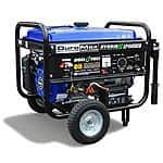 DuroMax XP4400EH Hybrid Portable Dual Fuel Propane Gas Camping RV Generator - $300 shipped with coupon