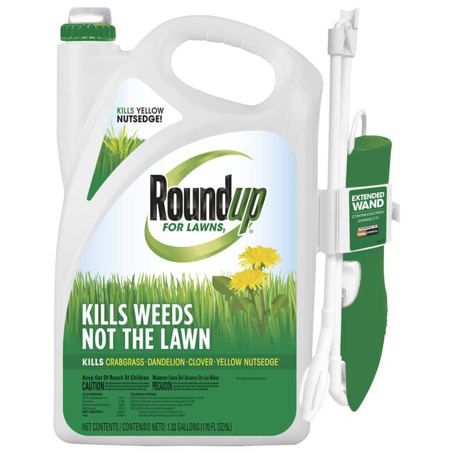 Roundup 1-Gallon Weed Killer FREE with 1.33-Gallon at LOWES $24.97 ...