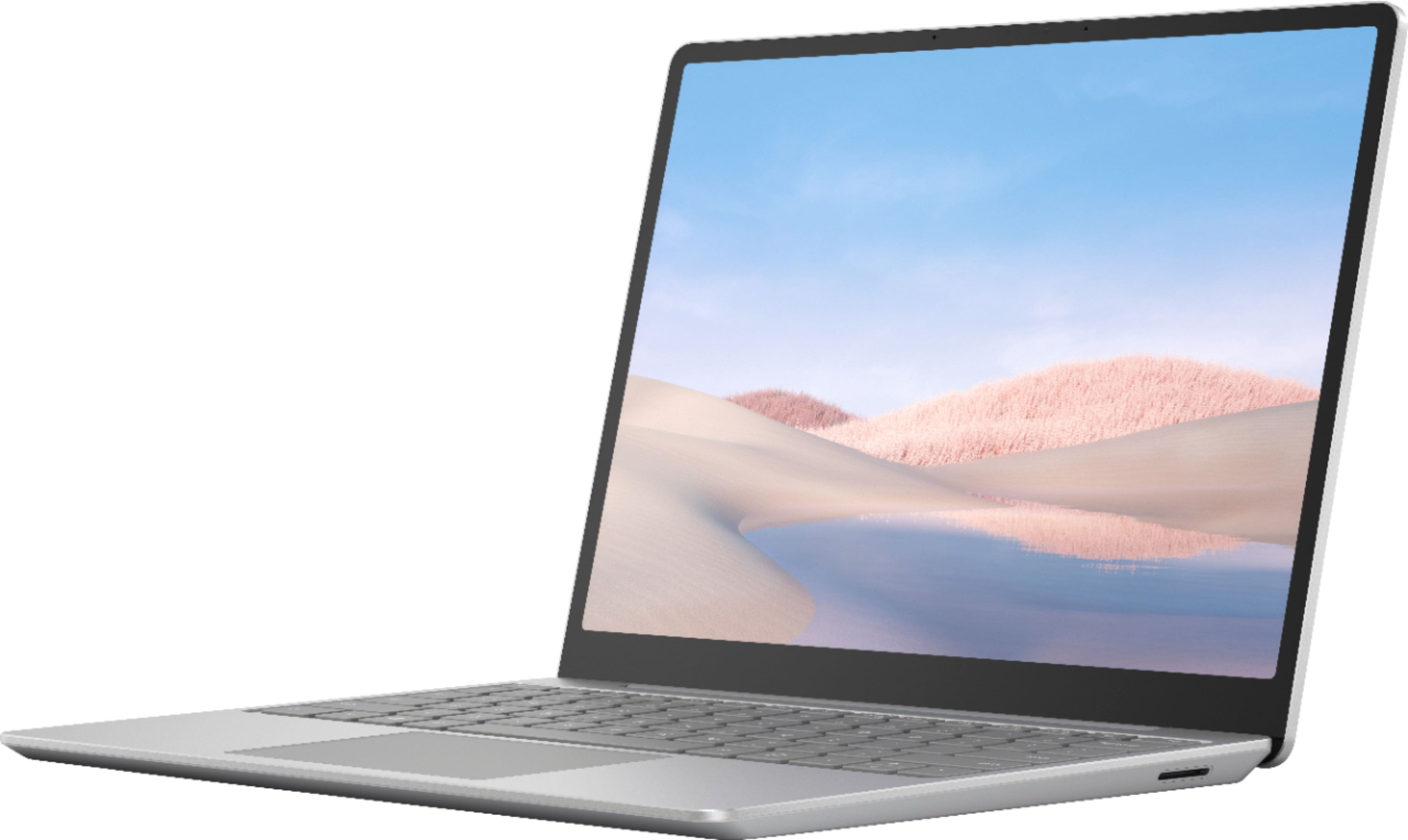 """Microsoft Surface Laptop Go 12.4"""" Touch-Screen Intel 10th Generation Core i5 8GB Memory 128GB Solid State Drive Platinum - $599.00"""