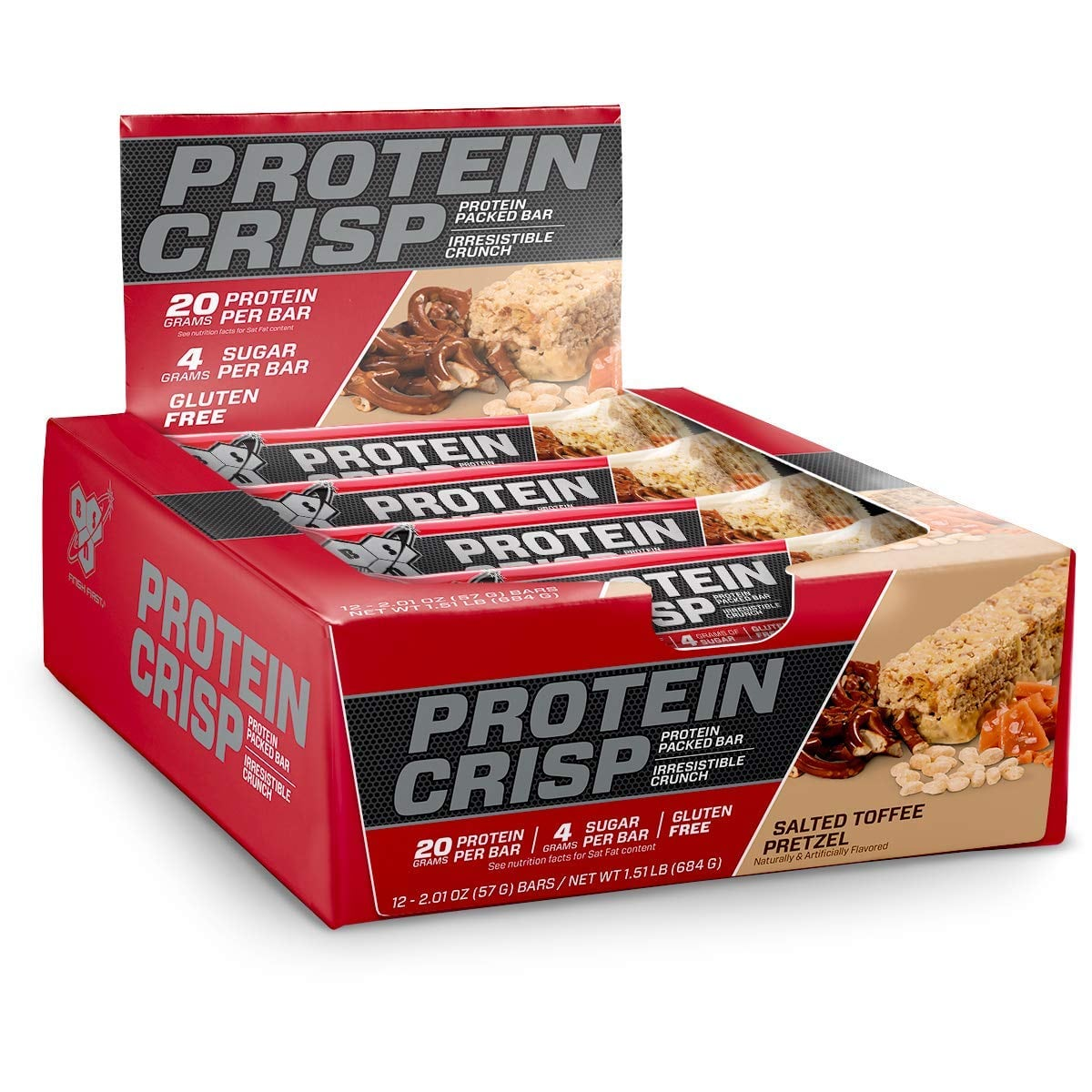 BSN Protein Crisp Bar by Syntha-6 Various Flavors, 12 Count $10-14