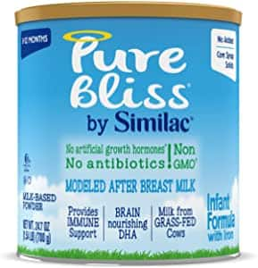 6-Pack Pure Bliss Infant Formula 50% off at Amazon $89