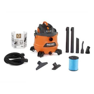 14 Gallon 6 HP Ridgid Wet/Dry Shop Vac Clearance $69.88 - Home Depot