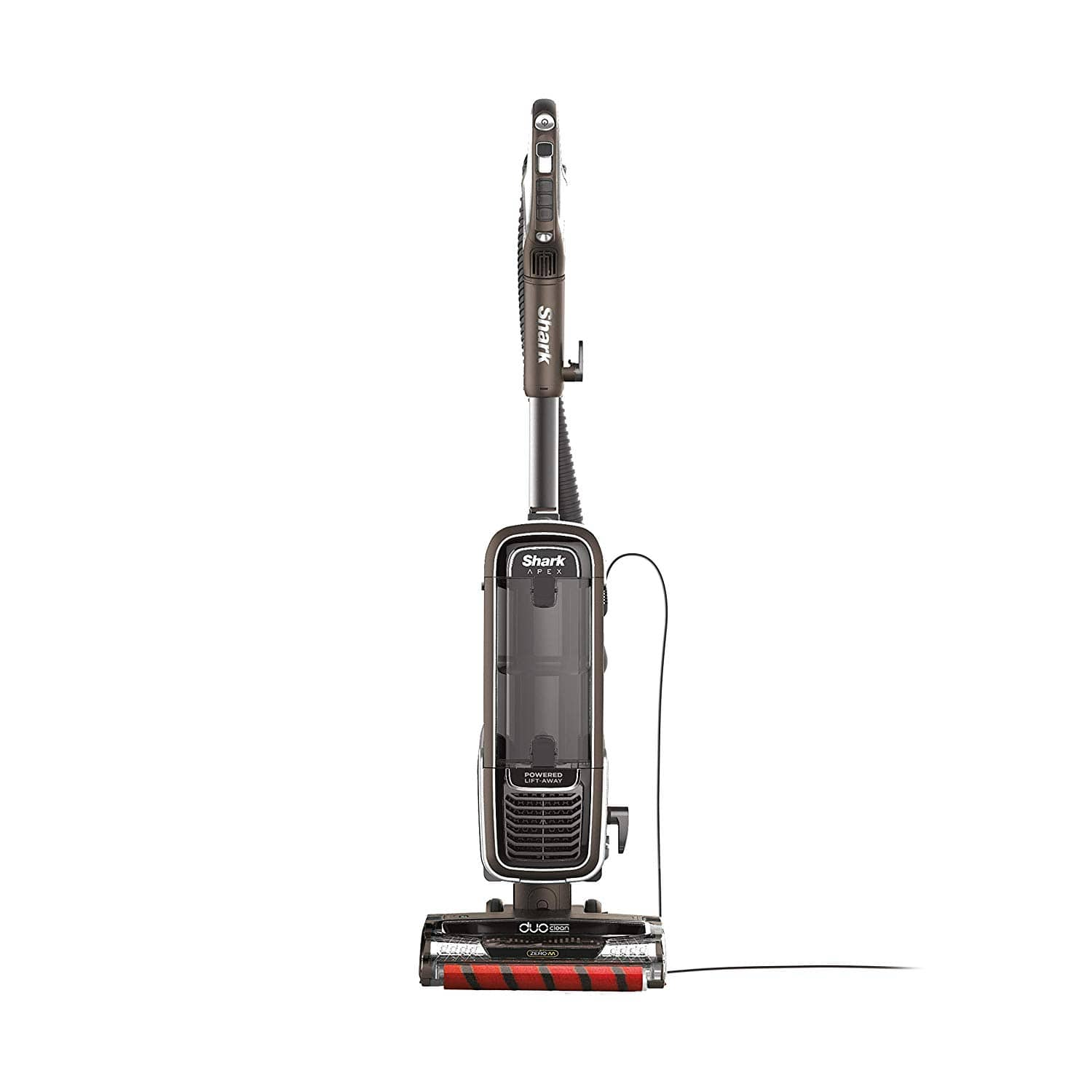Shark APEX Upright Vacuum with DuoClean for Carpet and HardFloor Cleaning, Zero-M Anti-Hair Wrap, & Powered Lift-Away with Hand Vacuum (AZ1002), Espresso $239.99