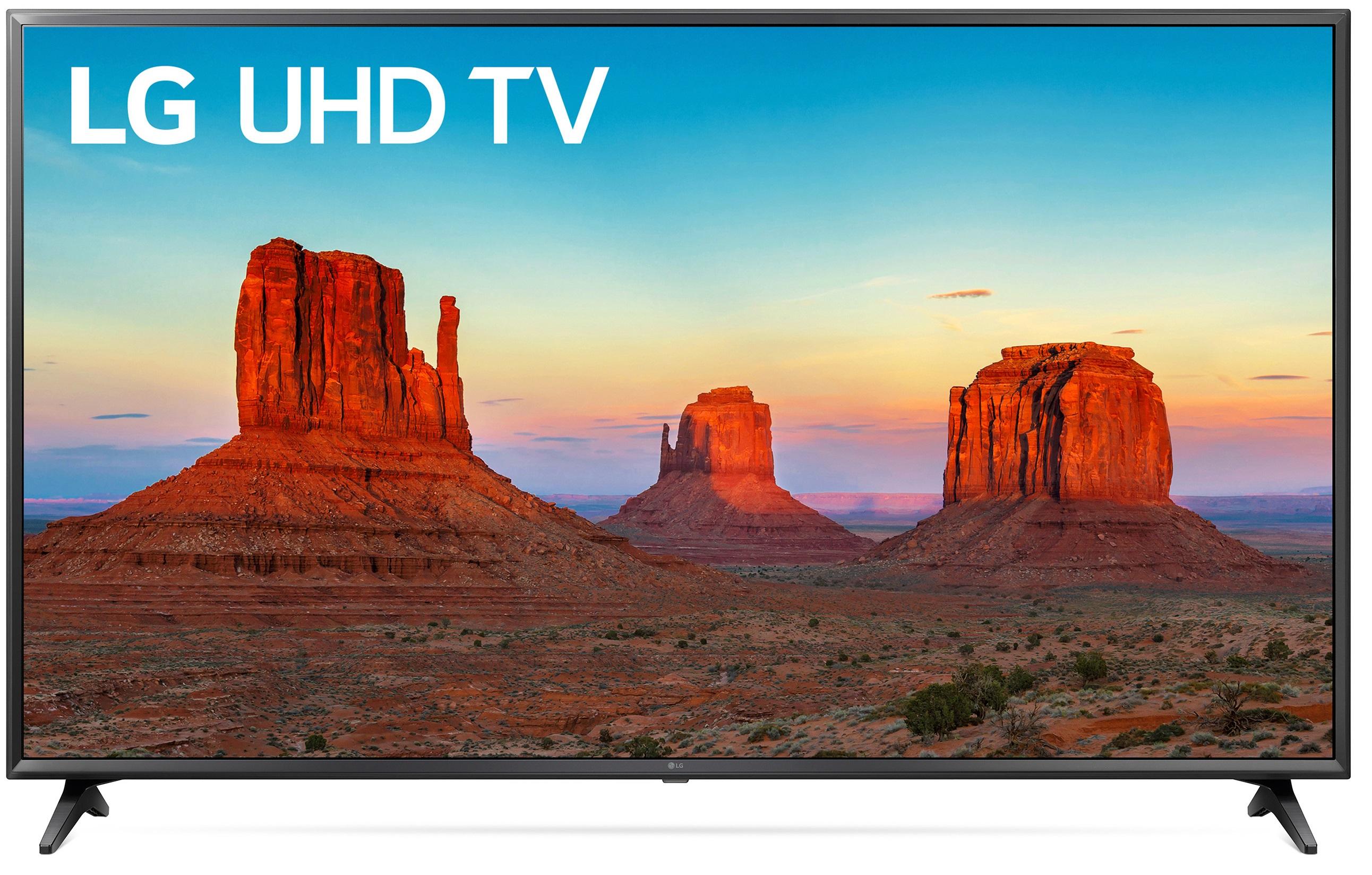 "YMMV - LG 65"" Class 4K (2160P) Ultra HD Smart LED HDR TV 65UK6200PUA $499"