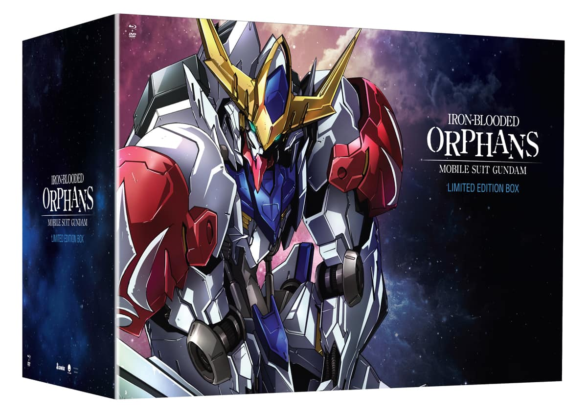 [Rightstufanime] Mobile Suit Gundam Iron Blooded Orphans Season 2 Limited Edition $51.99