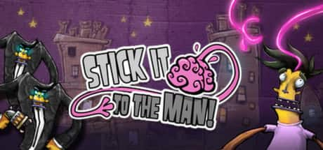 Free PC Game : Stick It To The Man! @ Epic Store from 17 Sep