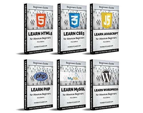 Web Development: Learn HTML, CSS, Javascript, PHP, MySQL and WordPress Kindle Edition $0.99