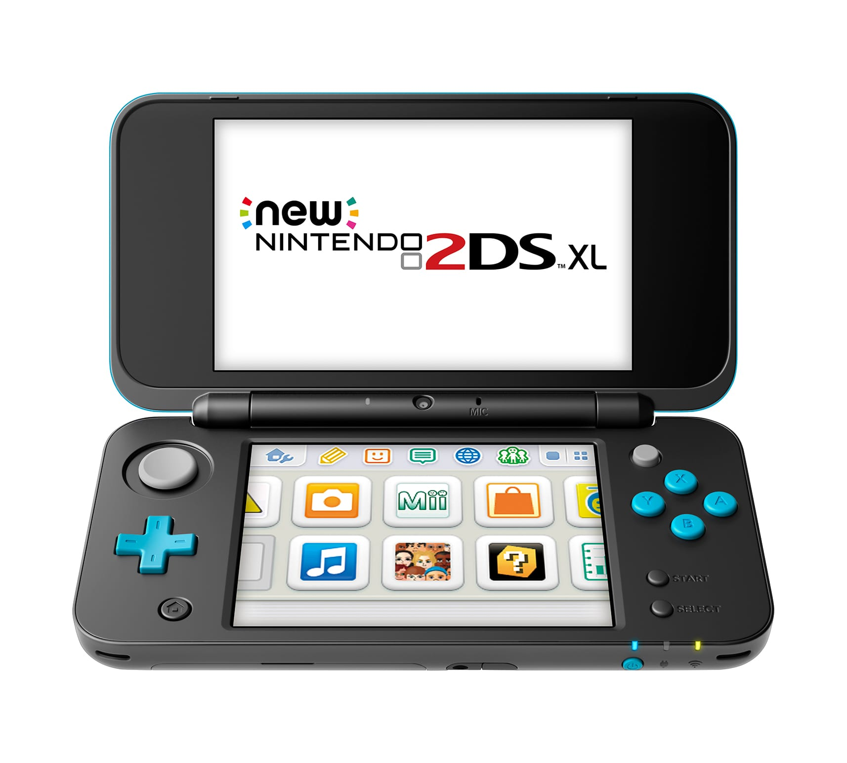 Nintendo 2DS XL System w/ Mario Kart 7 Pre-installed, Black & Turquoise Back in stock $99