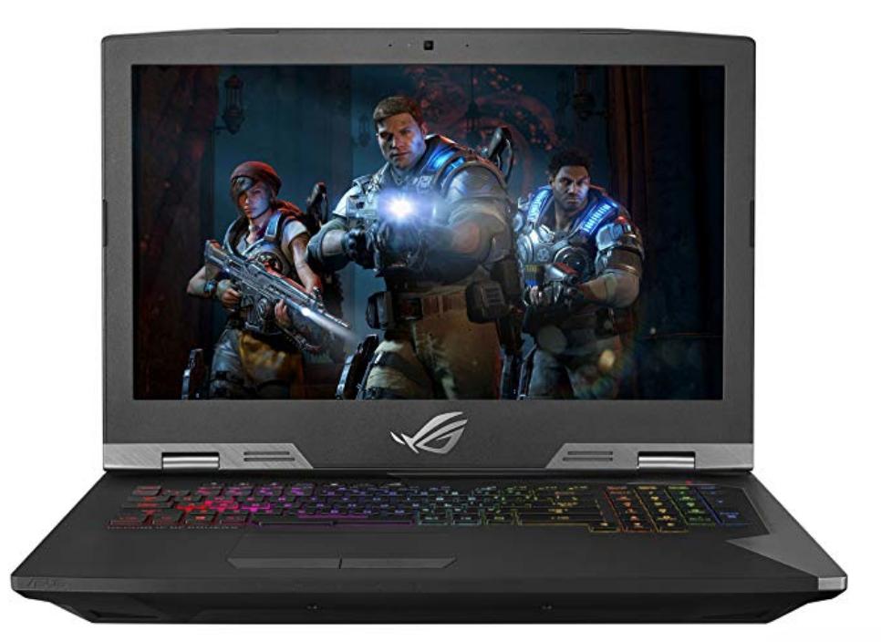 Asus ROG G703GI Gaming Laptop - i7 8750H,144Hz G-sync, Nvidia GTX 1080, 32GB DDR4, 512GB SSD - $2,199.99