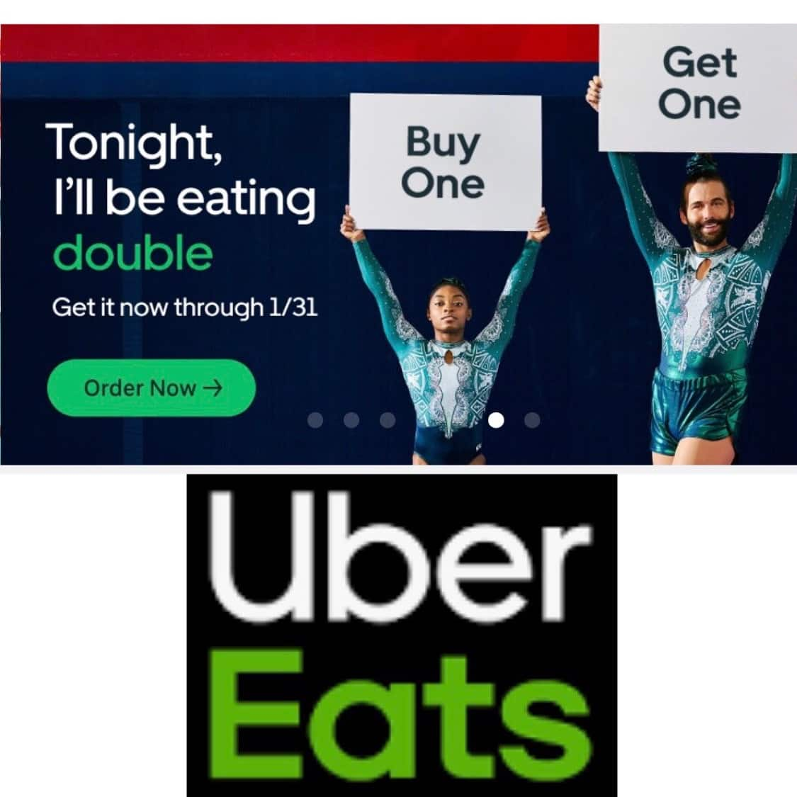Uber Eats App: B1G1 Free Items From Participating Restaurants. Stacks W/Other Promos.
