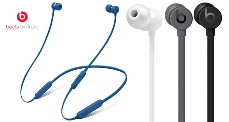 Beats by Dr. Dre BeatsX Wireless Bluetooth In-Ear Headphones $79.97