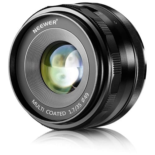 Neewer 35mm f/1.7 Manual Focus Prime Fixed Lens for SONY E-Mount Digital Cameras @Rakuten   $79.99 + FS