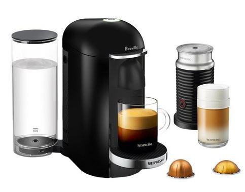 Breville Nespresso Vertuoplus black deluxe bundle  at target $123.49