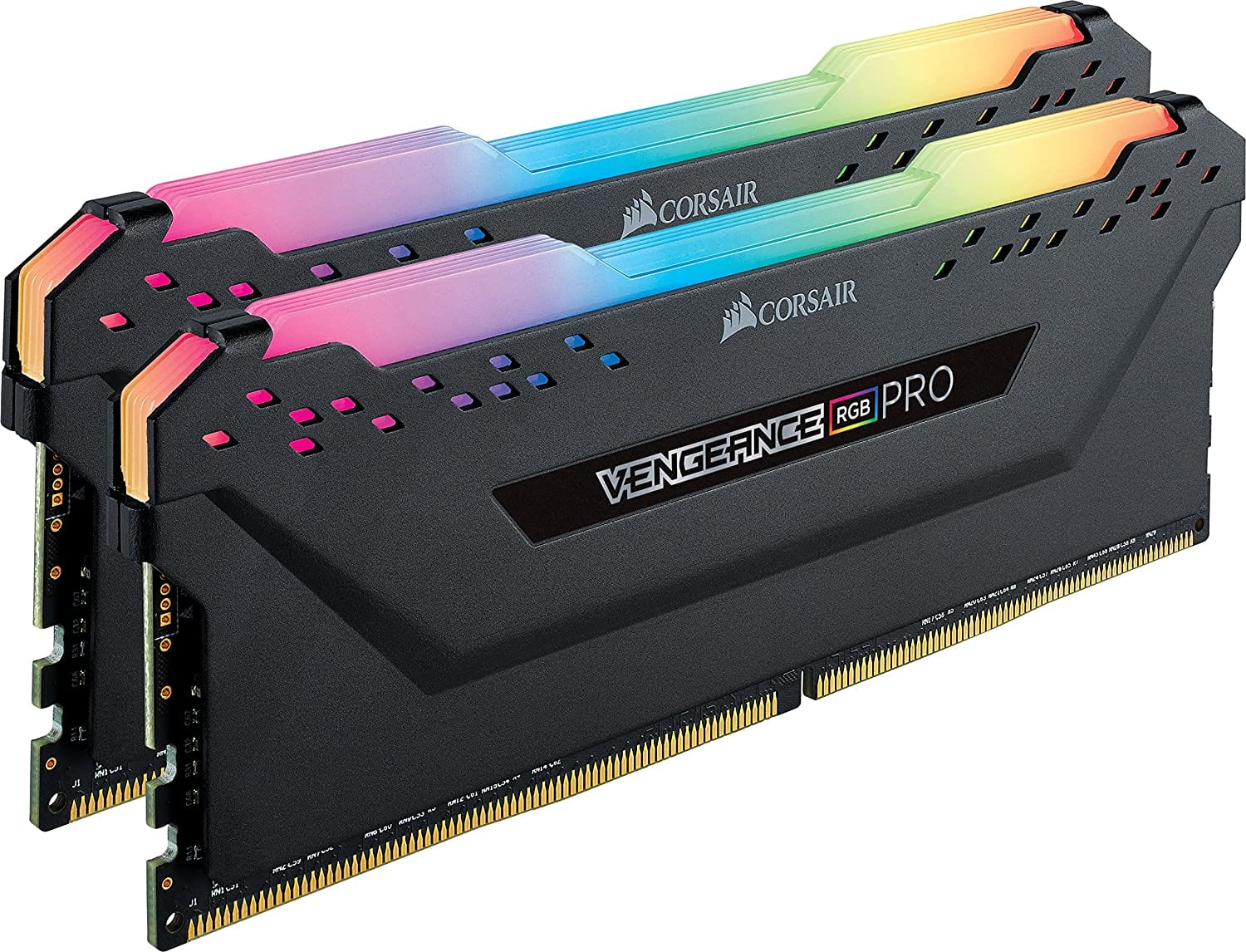 CORSAIR VENGEANCE RGB PRO 16GB (2x8GB) DDR4 3200MHz C16  - Black ($74.99)