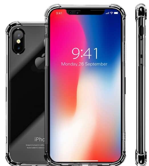 iPhone X Case and Glass Screen Protector from $2.90