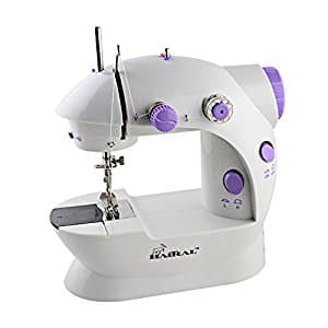 Haitral Portable Sewing Machine Mini 2-Speed Double Thread $16.99