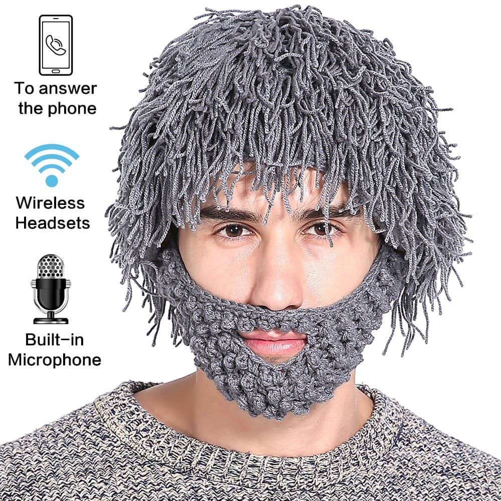 BATTOP Knitted Bluetooth Music Hat $9.59 AC