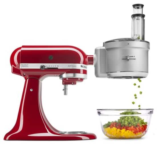 KitchenAid KSM2FPA Food Processor Attachment with Commercial Style Dicing Kit $119