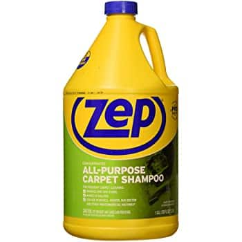 Zep All-Purpose Carpet Shampoo Concentrate 128 ounce for $8.49.