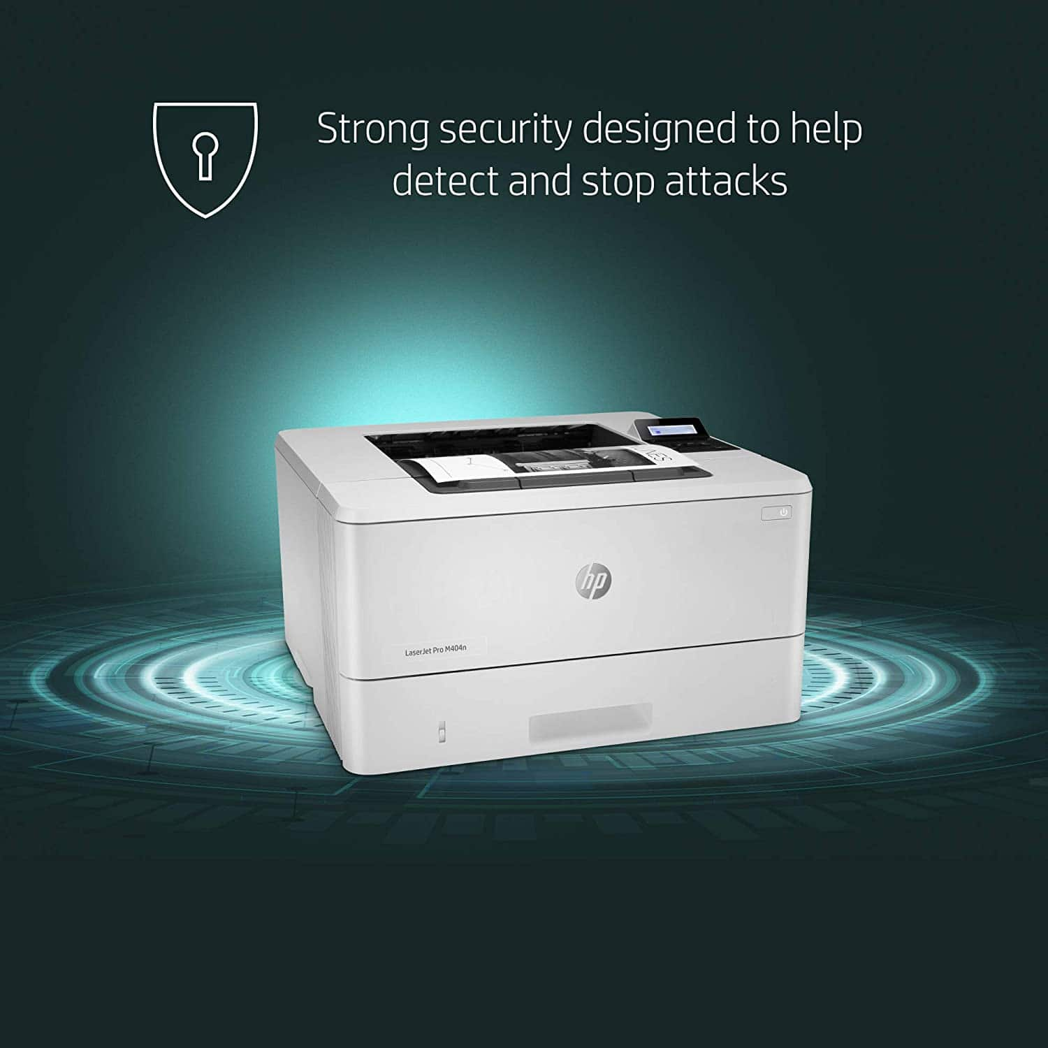 HP LaserJet Pro M404n Laser Printer with Built-in Ethernet & Security Features $148.9