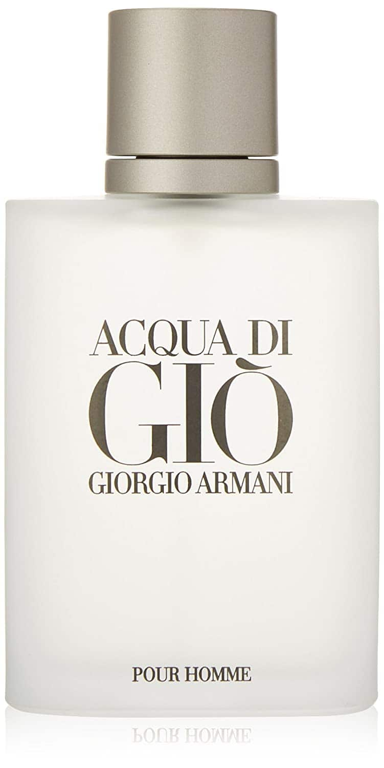 FREE medium size fragrance with purchase from mens Armani's Acqua or Code line